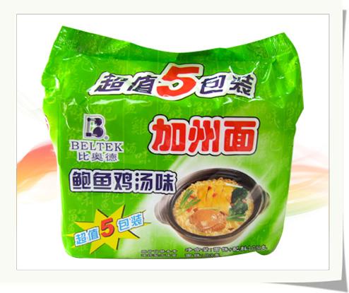 105g五袋装面(鲍鱼鸡汤味)