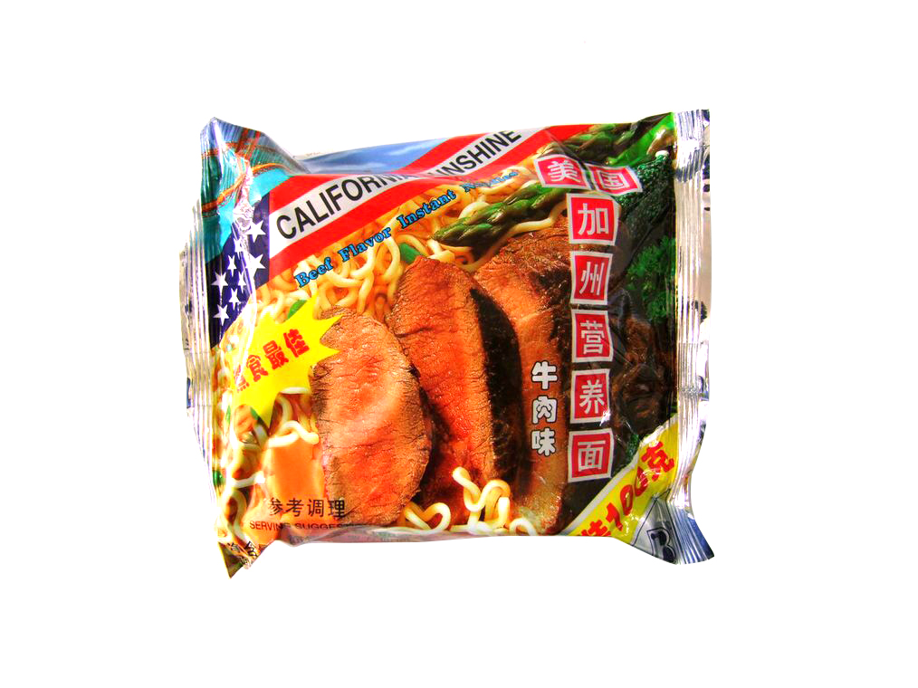 100g 袋面牛肉味